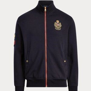 POLO RALPH LAUREN Double-Knit Track Jacket (Navy)